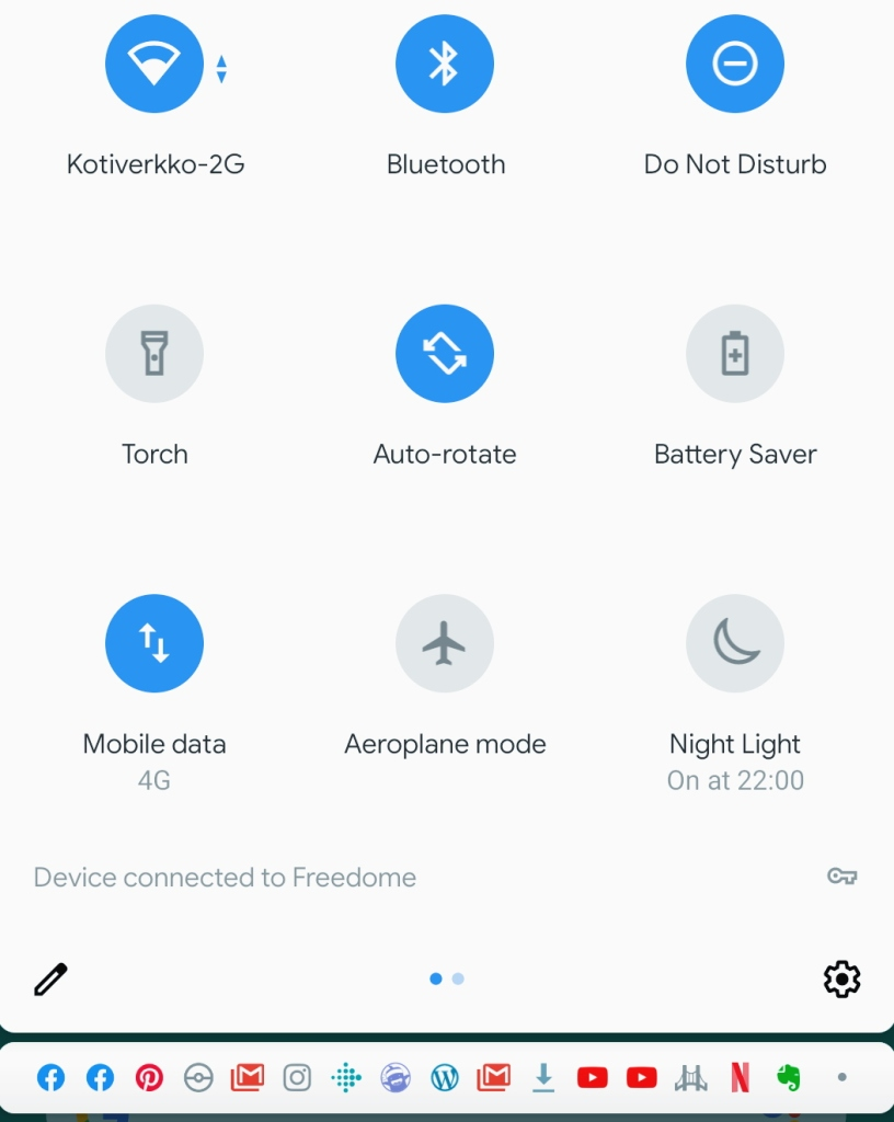 Reducing the amount of notifications on your phone will limit the amount of distractions you have. Having your phone on 'do not distrub' mode on default mutes everything you haven't made an exception for.