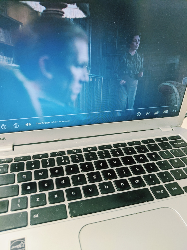 Streaming your favourite show on a portable device where you need distraction from a monotonous task might help you get the job done.